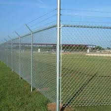 fence. Cyclone Wire Fence
