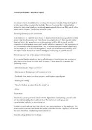 Printable Self Evaluation Examples Annual Performance Review Sample ...