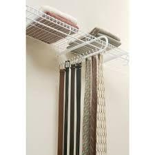 rubbermaid 30 hook tie belt rack organizer