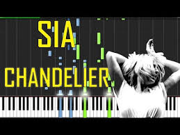 sia chandelier piano tutorial s how to play cover