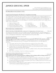 Hr Generalist Resume Sample Human Resource Executive Resumes Hr ...