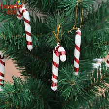 How To Decorate A Candy Cane Christmas Tree 60pcs 60cm Christmas Candy Cane Ornaments Festival Party Xmas Tree 21