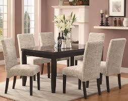 remarkable white fabric dining chairs room sets with