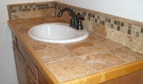 bathroom countertop tile ideas. Tile Bathroom Countertop Fair Design Ideas On Description Counter Back Splash With Feature Strip A