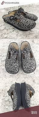 Alegria Size Chart Alegria Cheetah Miles Clogs Size 40 Great Used Condition