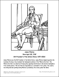 Small Picture James Monroe Word Search Work Sheets and Coloring Page