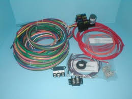 rebel wire wire kits for real rods rebel wire 6 volt universal wire harness
