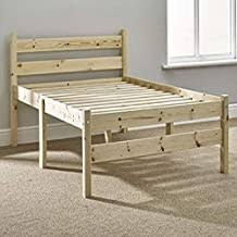 Solid Wood Bed Frame - Amazon.co.uk
