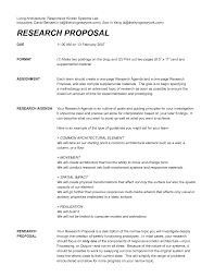 one page research proposal example