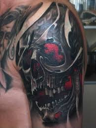 best images about tattoo s punisher skull tattoo horror tattoos play your mind your fears in such a way that they