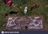 Lew Landers Grave Near Tombstone Movie