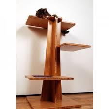 modern design cat furniture. Contemporary Cat Furniture Acacia Tower Hardwood Varnished Modern Cute Sleeping Simple Home Design