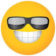 Free lunettes de soleil visage jaune emoji 1192834 PNG with Transparent  Background