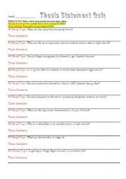 The     best Writing a thesis statement ideas on Pinterest     Pinterest Essay Process Lessons   Writing Titles  Topic Sentences  Thesis Statements  Middle  School