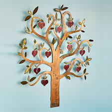 Family tree wall decal tree wall decal for picture frames in chestnut brown small size: Personalized Family Tree Wall Sculpture Family Tree Art Family Decor Personalized Family Gifts Uncommon Goods