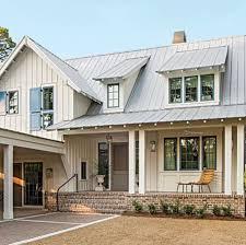 Shed Dormer Board  Batten Porch Farmhouse Houses Vernacular - Farmhouse exterior paint colors