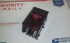 wadsworth electrical circuit breakers fuse boxes wadsworth double pole 30 amp breaker type a
