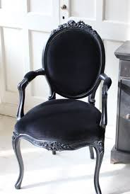 Louis Style Bedroom Furniture Louis Style Black Velvet Chair Guest Chairs Chair Pinterest
