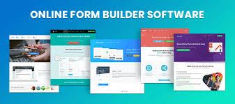 Builder Online 5 Online Form Builder Software Create Online Forms With No