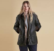 womens barbour rain bedale wax jacket lwx0614sg51 sage comfortable to wear