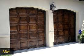 garage door wood lookPimp Your Garage Door With These DIY Makeover Ideas
