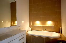 bathtub lighting. Bathroom Designers Today Are Looking At Lighting From Both Practical And Aesthetic Vantage Points. The Overhead May Still Be There, Bathtub N