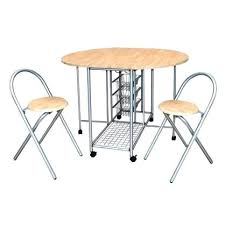 Table Pliante Avec Chaises Intgres Awesome Table Cuisine Chaises
