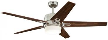 the westinghouse zephyr ceiling fan in brushed nickel finish will cool large sized rooms while adding a bold decorative accent to your decor