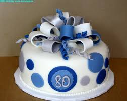 80th Birthday Cake Ideas Cakes Design