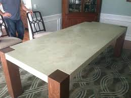 concrete dining table diy dining table concrete dining table dining table ideas concrete top outdoor dining