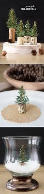 These DIY wine cork trees from Blogger Kelly, of Live Laugh Rowe, would make  a great tabletop centerpiece this holiday season.
