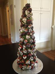 chocolate covered strawberry tree from the the berry bouquet trrybouquet ca