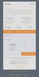 6 Moments To Remember From Email Receipt Template Html Invoice And