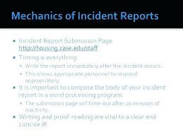 Critical Incident Report Template Tlcmentoring Info