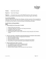 How To Write Resume For Retail Job Store Manager Job Description Duties Grocery Resume Retail 37