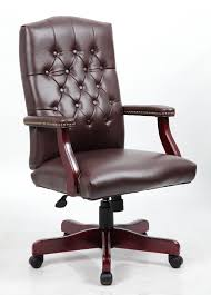 tufted leather executive office chair. Simple Executive Midback Traditional Tufted Leather Executive Office ChairBrown By  TimeOffice For Chair I