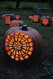 Advanced Pumpkin Carving Patterns Amazing Celtic Pumpkins Inspiring Creativity Pinterest Holidays