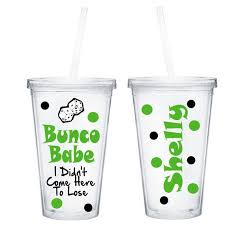 personalized bunco tumbler bunco prize or gift dice queen on etsy 15 00 cameo bunco prizes bunco gifts and bunco themes