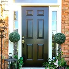 elegant front entry doors. Black Front Door Beautify Uses Modern Masters Paint In The Color . Elegant Entry Doors H