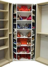 lazy susan shoe storage diy lazy susan shoe rack plans