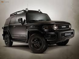 Toyota FJ Cruiser, Flat Black Stealth | You will be mine ...