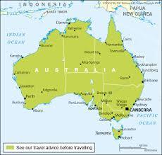health australia travel advice gov uk