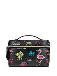 neon paradise weekender train case