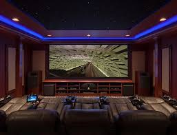 jbl home theater room. massive jbl synthesis audio system brings life to this awesome home theater and gaming room. jbl room m