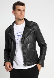 leather jacket goosecraft black wmlzs7787797190 quick view