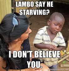 Skeptical African Child Meme Generator Skeptical Third World ... via Relatably.com