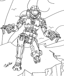 Small Picture Halo 3 Coloring Pages Coloring Coloring Pages