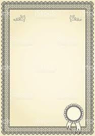 Винтажная рамка для диплом или Пустой Сток Вектор istock Винтажная рамка для диплом или Пустой Сток Вектор Стоковая фотография