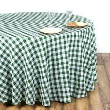 round gingham tablecloth round green white checd whole gingham polyester linen picnic restaurant dinner tablecloth round gingham tablecloth