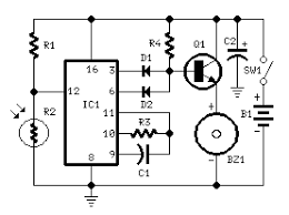 results page about datasheet of bfw searching circuits fridge alarm 4060